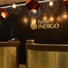 Отель Indigo Dresden - Wettiner Platz Германия, Дрезден - отзывы, цены и фото номеров - забронировать отель Indigo Dresden - Wettiner Platz онлайн интерьер отеля
