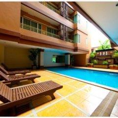 Апартаменты Chara Ville Serviced Apartment бассейн