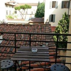 Отель Residenza Sangallo Италия, Флоренция - отзывы, цены и фото номеров - забронировать отель Residenza Sangallo онлайн балкон