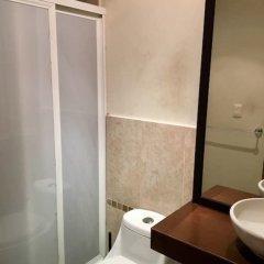 Отель Crisantemos Suite Мексика, Канкун - отзывы, цены и фото номеров - забронировать отель Crisantemos Suite онлайн ванная фото 2