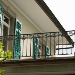 Отель Signau House And Garden Цюрих балкон