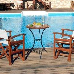 Отель Asion Lithos бассейн фото 2