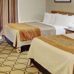 Отель Comfort Inn Ottawa East Канада, Оттава - отзывы, цены и фото номеров - забронировать отель Comfort Inn Ottawa East онлайн комната для гостей фото 5