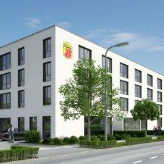 Отель Super 8 Munich City North Мюнхен вид на фасад