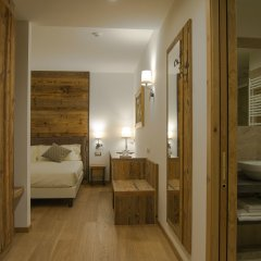 Hotel Garnì Caminetto Горнолыжный курорт Скирама Доломити Адамелло Брента комната для гостей фото 6