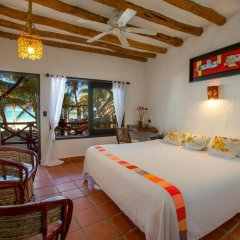 Отель Beachfront Hotel La Palapa - Adults Only Мексика, Остров Ольбокс - отзывы, цены и фото номеров - забронировать отель Beachfront Hotel La Palapa - Adults Only онлайн комната для гостей фото 3