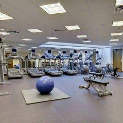 Отель Hilton Bellevue фитнесс-зал
