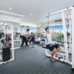 Отель Centre Point Pratunam Бангкок фитнесс-зал
