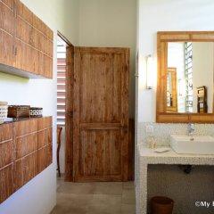 Отель Villa Maere Villa 1 Французская Полинезия, Пунаауиа - отзывы, цены и фото номеров - забронировать отель Villa Maere Villa 1 онлайн ванная