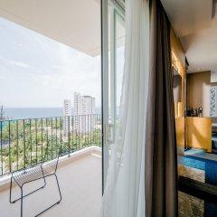 Отель Quinter Central Nha Trang Вьетнам, Нячанг - отзывы, цены и фото номеров - забронировать отель Quinter Central Nha Trang онлайн балкон