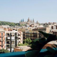 Отель Chic & Basic Velvet Испания, Барселона - отзывы, цены и фото номеров - забронировать отель Chic & Basic Velvet онлайн балкон