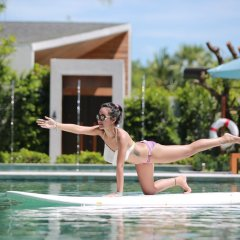 Отель Celes Beachfront Resort Самуи фитнесс-зал фото 4