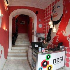 Отель Red Nest Hostel Испания, Валенсия - отзывы, цены и фото номеров - забронировать отель Red Nest Hostel онлайн интерьер отеля