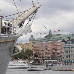 Stf Stockholm/af Chapman & Skeppsholmen Hostel Стокгольм балкон