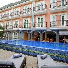 Отель Salil Hotel Sukhumvit - Soi Thonglor 1 Таиланд, Бангкок - отзывы, цены и фото номеров - забронировать отель Salil Hotel Sukhumvit - Soi Thonglor 1 онлайн бассейн фото 3