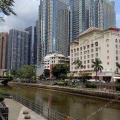 Hedong Hotel Шэньчжэнь приотельная территория