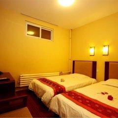 Отель Chinese Culture Holiday Hotel Китай, Пекин - 1 отзыв об отеле, цены и фото номеров - забронировать отель Chinese Culture Holiday Hotel онлайн комната для гостей фото 3