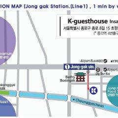 Отель K-GUESTHOUSE Insadong 2 городской автобус