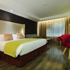 Отель Super 8 Xian Big Wild Goose Pagoda Китай, Сиань - отзывы, цены и фото номеров - забронировать отель Super 8 Xian Big Wild Goose Pagoda онлайн комната для гостей фото 2