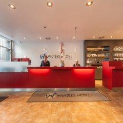 Select Hotel Berlin Gendarmenmarkt интерьер отеля