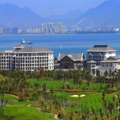 Отель Mingshen Golf & Bay Resort Sanya пляж