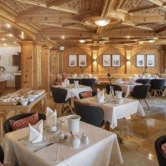 Отель Swiss Alpine Hotel Allalin Швейцария, Церматт - отзывы, цены и фото номеров - забронировать отель Swiss Alpine Hotel Allalin онлайн питание фото 3