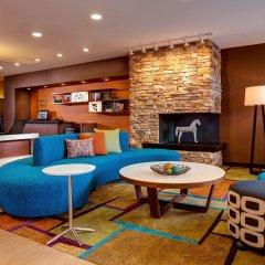 Отель Fairfield Inn & Suites Meridian комната для гостей