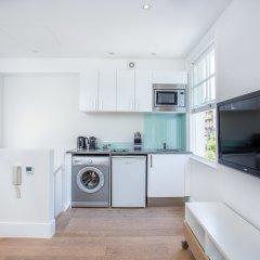 Апартаменты Chadwell Street Serviced Apartments Лондон комната для гостей