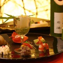 Отель Iwayu Ryokan Мисаса гостиничный бар