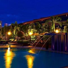 Отель PARKROYAL COLLECTION Marina Bay Сингапур бассейн
