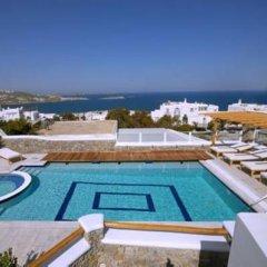 Отель Damianos Mykonos Hotel Греция, Миконос - отзывы, цены и фото номеров - забронировать отель Damianos Mykonos Hotel онлайн бассейн фото 3