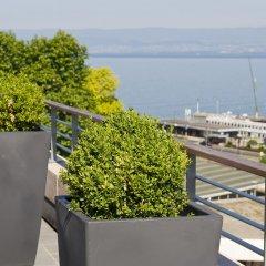 Отель Hilton Evian-les-Bains пляж