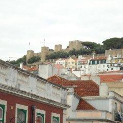 Отель Pensão Aljubarrota Португалия, Лиссабон - 1 отзыв об отеле, цены и фото номеров - забронировать отель Pensão Aljubarrota онлайн балкон