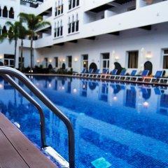 Отель Andalucia Golf Tanger Марокко, Медина Танжера - отзывы, цены и фото номеров - забронировать отель Andalucia Golf Tanger онлайн бассейн