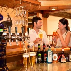 Отель Sport- und Familienhotel Riezlern гостиничный бар