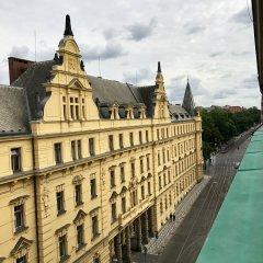 Отель Art Suites Spalena Чехия, Прага - отзывы, цены и фото номеров - забронировать отель Art Suites Spalena онлайн балкон