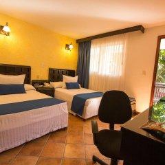 Отель Comfort Inn Palenque Maya Tucán комната для гостей фото 2