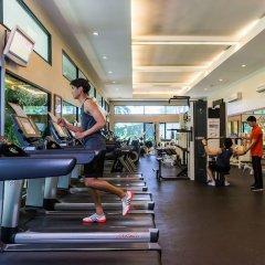 Отель Royal Cliff Beach Terrace Hotel Таиланд, Паттайя - отзывы, цены и фото номеров - забронировать отель Royal Cliff Beach Terrace Hotel онлайн фитнесс-зал