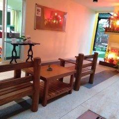 Отель Baan Wanchart Bangkok Residences Бангкок гостиничный бар