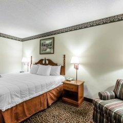Отель Clarion Inn Chattanooga США, Чаттануга - отзывы, цены и фото номеров - забронировать отель Clarion Inn Chattanooga онлайн комната для гостей фото 2