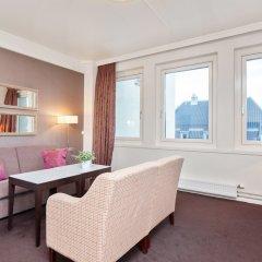 Отель Thon Hotel Prinsen Норвегия, Тронхейм - отзывы, цены и фото номеров - забронировать отель Thon Hotel Prinsen онлайн комната для гостей фото 3