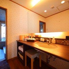 Отель Asagirinomieru Yado Yufuin Hanayoshi Хидзи ванная фото 2