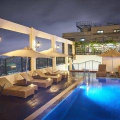 Отель Windsor Plaza Hotel Вьетнам, Хошимин - 1 отзыв об отеле, цены и фото номеров - забронировать отель Windsor Plaza Hotel онлайн бассейн фото 2