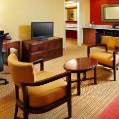 Отель Courtyard Columbus Airport США, Колумбус - отзывы, цены и фото номеров - забронировать отель Courtyard Columbus Airport онлайн удобства в номере фото 2