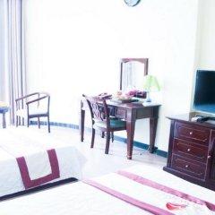 Отель Thuy Van Hotel Вьетнам, Вунгтау - отзывы, цены и фото номеров - забронировать отель Thuy Van Hotel онлайн комната для гостей фото 4