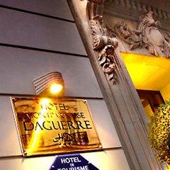 Отель Montparnasse Daguerre Франция, Париж - отзывы, цены и фото номеров - забронировать отель Montparnasse Daguerre онлайн интерьер отеля