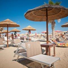 Отель Aurea Италия, Римини - отзывы, цены и фото номеров - забронировать отель Aurea онлайн пляж фото 2