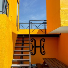 Отель Hostal Hidalgo - Hostel Мексика, Гвадалахара - отзывы, цены и фото номеров - забронировать отель Hostal Hidalgo - Hostel онлайн фитнесс-зал фото 4