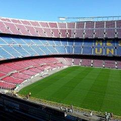 Апартаменты Espai Barcelona Camp Nou Apartment спортивное сооружение
