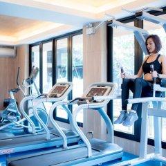 Отель The Silver Palm Rama 9 - Bangkok фитнесс-зал фото 2